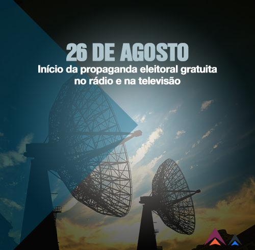 Inicio da Propaganda Eleitoral Na Rádio e Tv