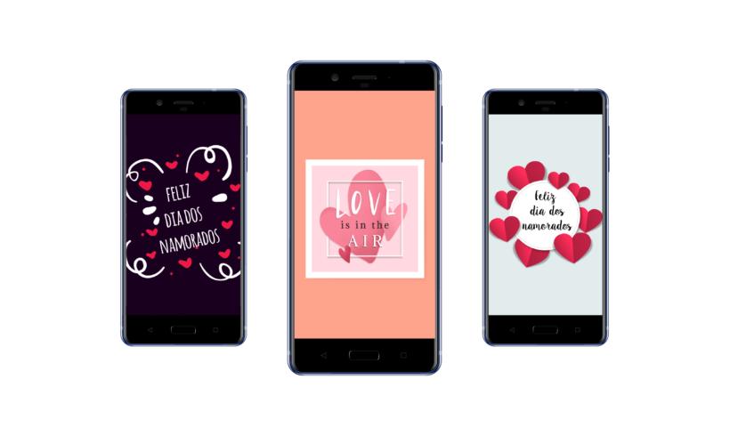Telas Splash – Dia dos Namorados
