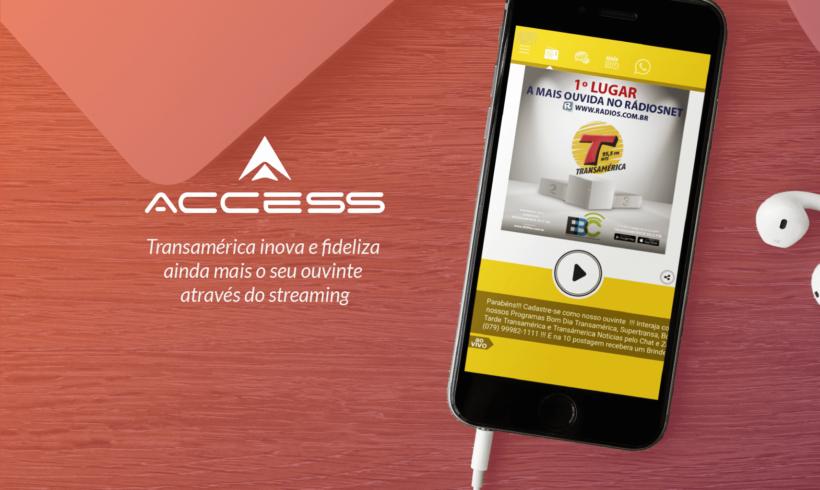 EBC Transamerica 95.5 FM e ACCESS: mais um caso de sucesso!