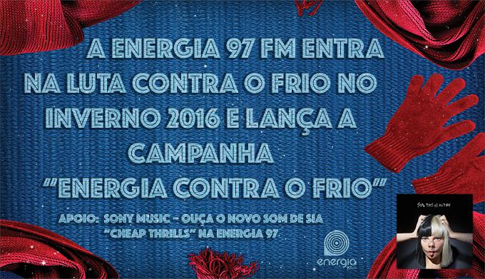 """Energia 97 FM realiza a ação """"Energia Contra o Frio"""" nas ruas de São Paulo"""