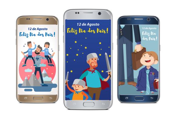 TELAS SPLASH – Dia dos Pais!