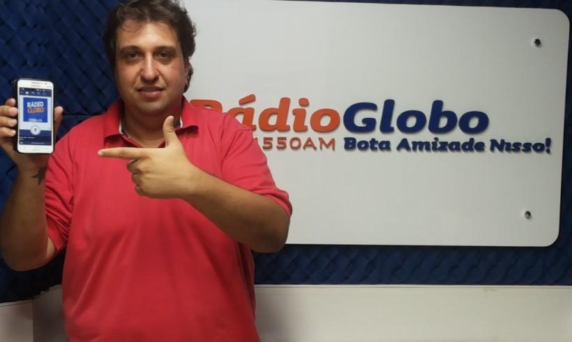Notícia: Rádio Globo de Jacarezinho atinge 100 mil Downloads do APP