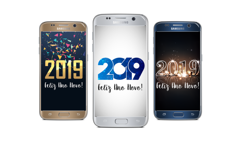 Telas Splash: Feliz 2019!