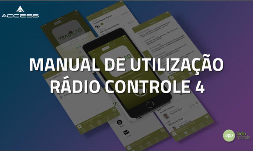 Confira o novo Painel do Rádio Controle 4.0!