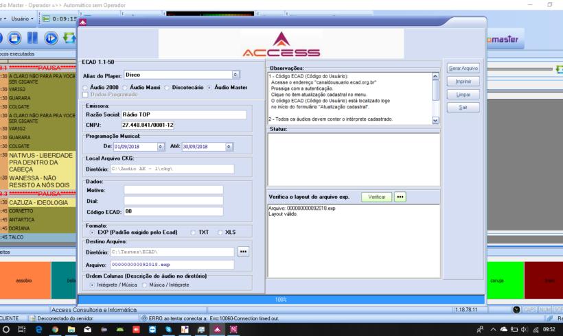 Novidades técnicas: Gerador do relatório do ECAD com validação de layout
