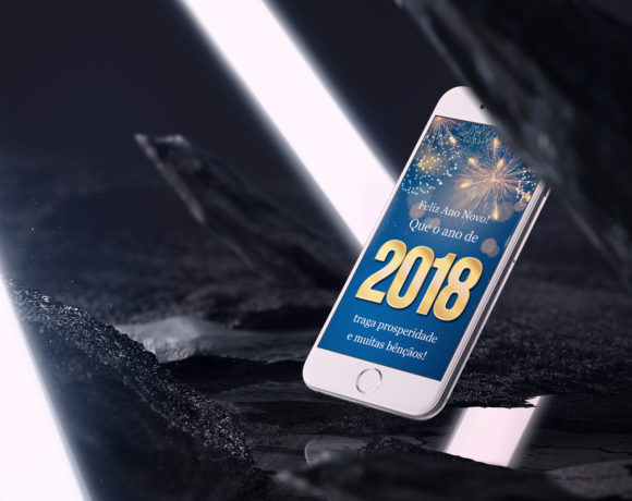 Telas Splash – Feliz 2018!