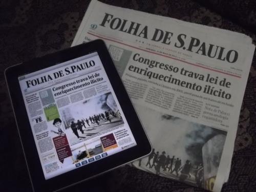 Notícias: O digital estabiliza os jornais