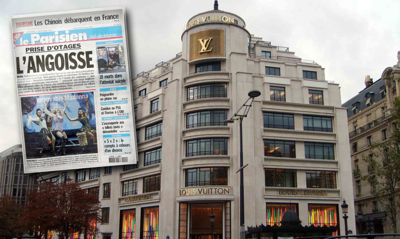 Notícias: Os jornais estão literalmente na moda