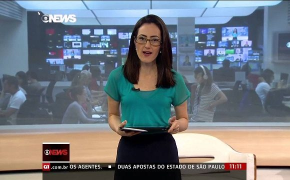 Jornalismo ao vivo fez GloboNews crescer 92% em 2016, diz diretora