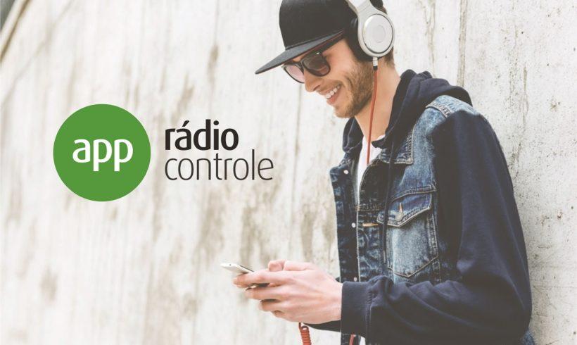 Publicidade online no aplicativo Rádio Controle acompanha a evolução dos investimentos em mídia